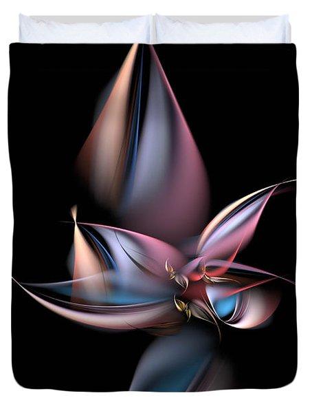 Dancing Pastels Duvet Cover