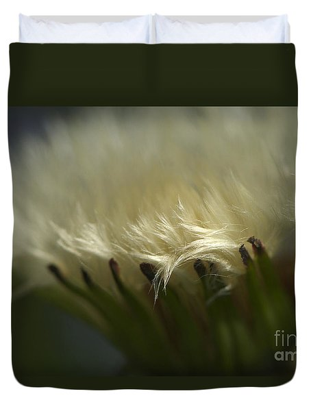 Dandelion Glow Duvet Cover