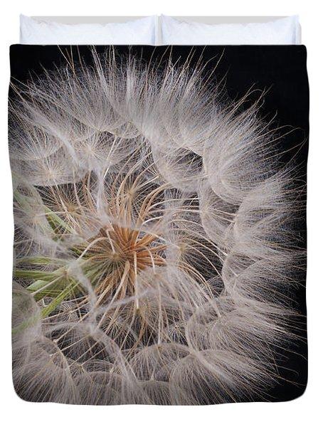 Dandelion Silhouette Duvet Cover by Ivelina G