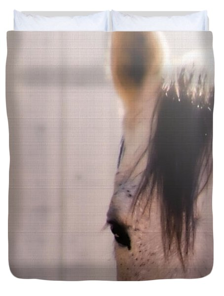 Dapple Devotion Duvet Cover by Betty LaRue