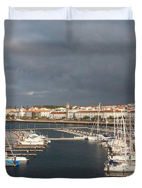 Dark Clouds Duvet Cover by Gaspar Avila