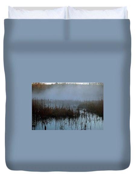 Daybreak Marsh Duvet Cover