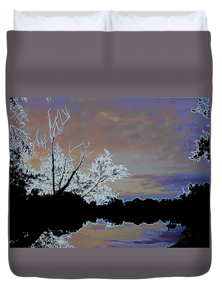 Daydreaming On The Lake Duvet Cover