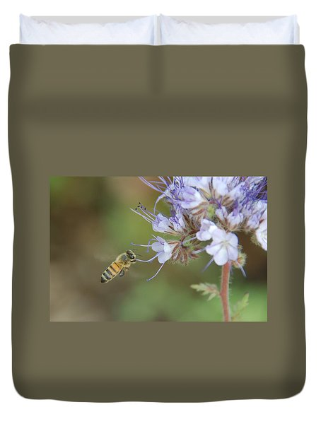 Duvet Cover featuring the photograph Dbg 041012-0310 by Tam Ryan
