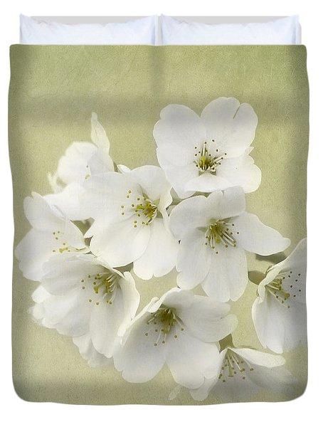 Dc Blossom Duvet Cover by Kim Hojnacki