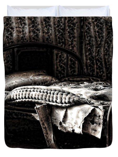Dead Sleep Duvet Cover by Empty Wall