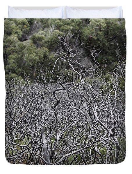 Dead Tree Garden Duvet Cover