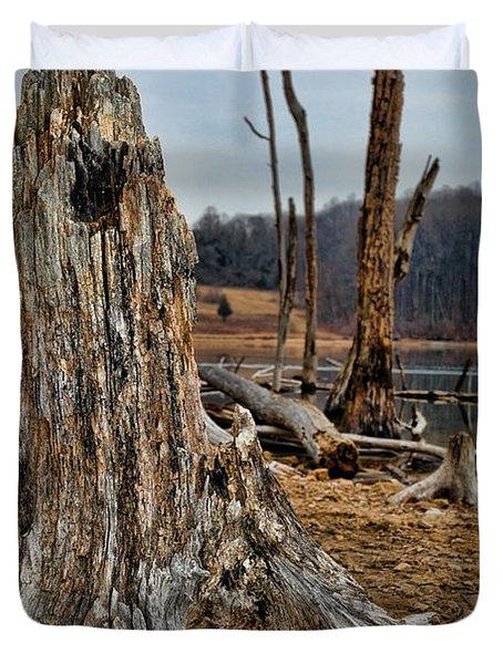 Dead Wood Duvet Cover by Paul Ward