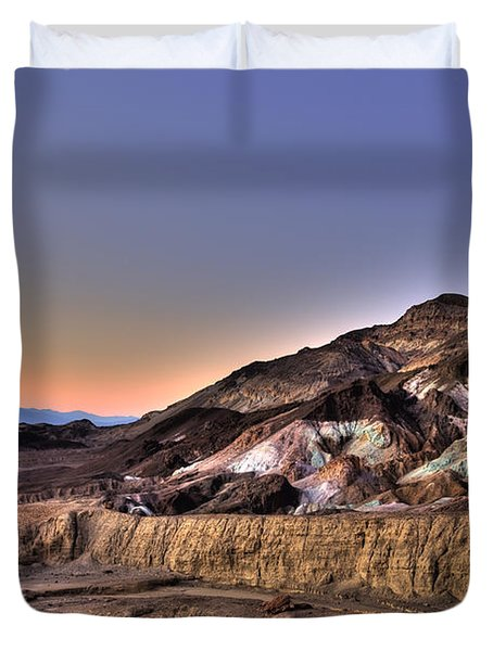 Death Valley Sunset Duvet Cover