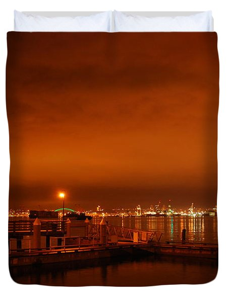 December Daybreak Duvet Cover