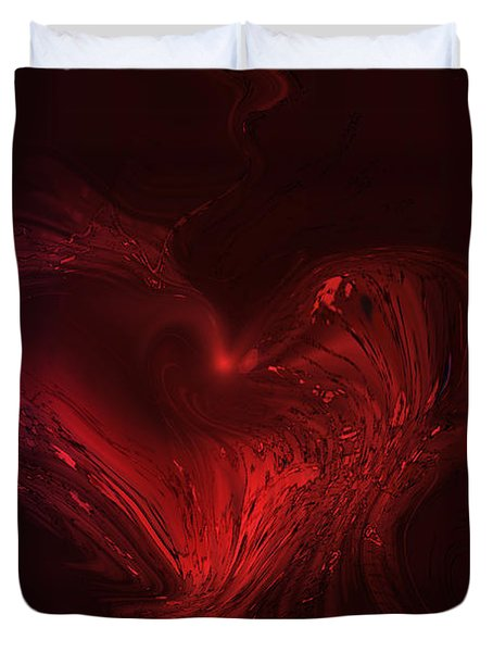 Deep Hearted Duvet Cover