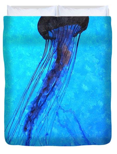 Deepsea Serenity Dswc Duvet Cover by Jim Brage