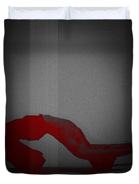 Defiance Duvet Cover by Naxart Studio