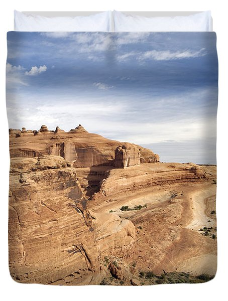 Delicate Arch Viewpoint - D004091 Duvet Cover by Daniel Dempster