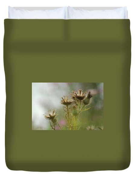Duvet Cover featuring the photograph Delicate Balance by Tam Ryan