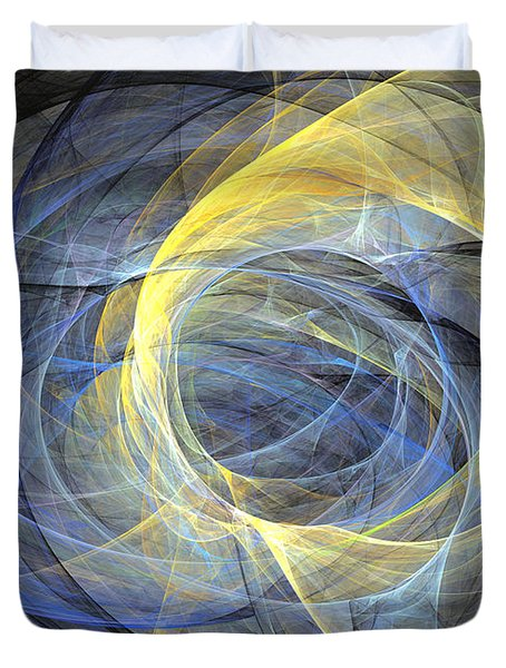 Delightful Mood Of Abstracted Mind Duvet Cover