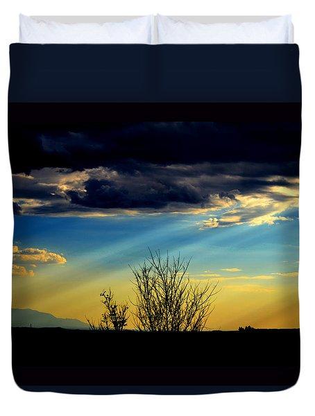Desert Dusk Duvet Cover by Susanne Still