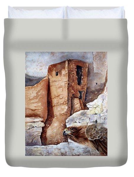 Desert Dwellers Duvet Cover