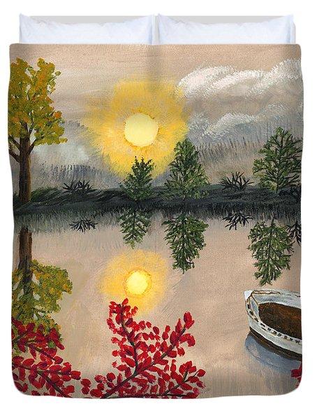 Deserted Duvet Cover by Susan Schmitz
