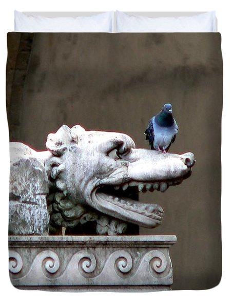Despised Pigeon Duvet Cover