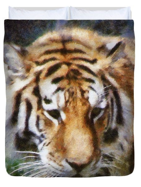 Detroit Tiger Duvet Cover