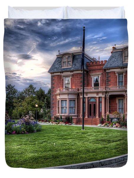 Devereaux Mansion Duvet Cover