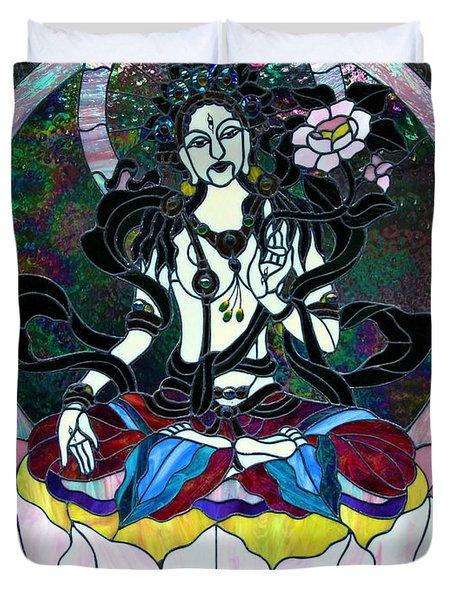 Devi Shakti Goddess Duvet Cover