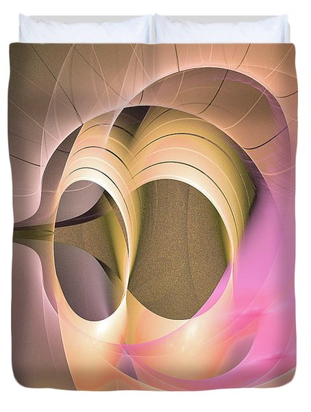 Dies Laetitiae - Abstract Artart Duvet Cover