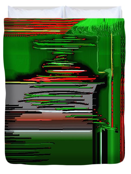 Digital Design 384 Duvet Cover by Nedunseralathan R