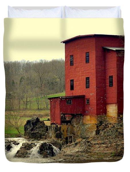 Dillard Mill 2 Duvet Cover by Marty Koch