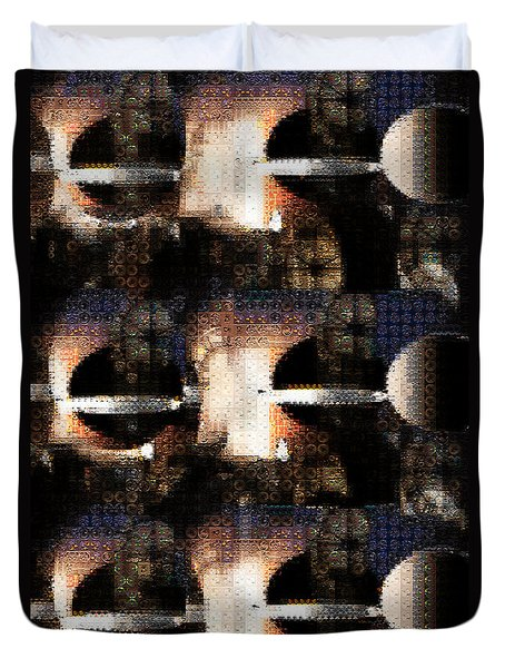 Dimensions Duvet Cover by Paula Ayers