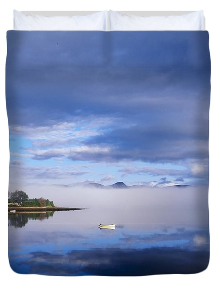 Dinish Island, Kenmare Bay, County Duvet Cover by The Irish Image Collection