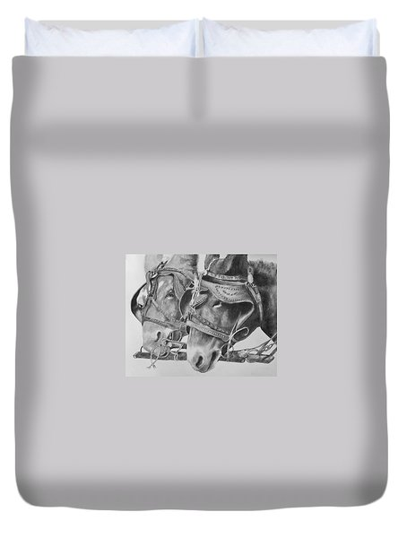 Dink And Donk Duvet Cover