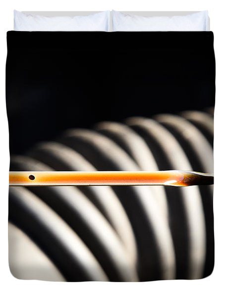 Dipstick Duvet Cover by Photo Researchers