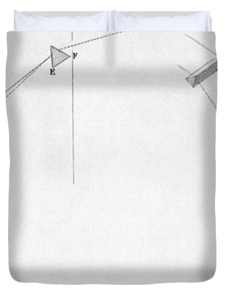 Discovery Of Infrared Radiation In Duvet Cover by Science Source