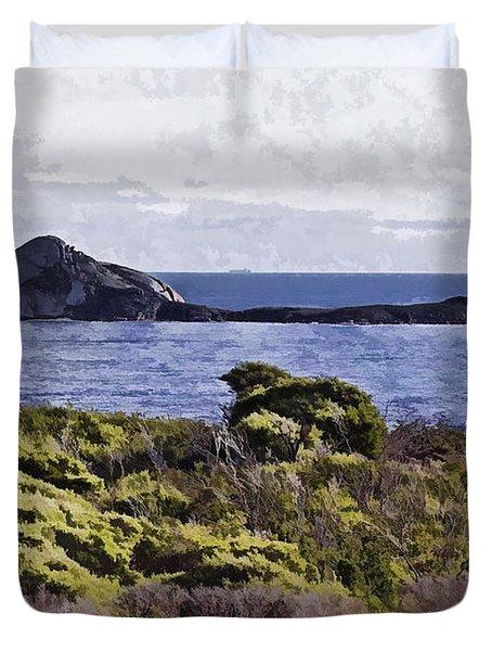 Distant Land V2 Duvet Cover