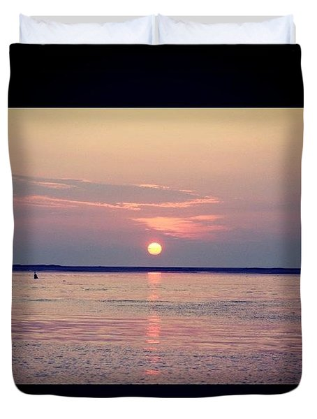 Distant Sunrise  Duvet Cover