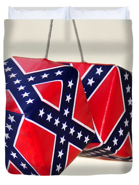 Dixie Dice Duvet Cover by David Lee Thompson