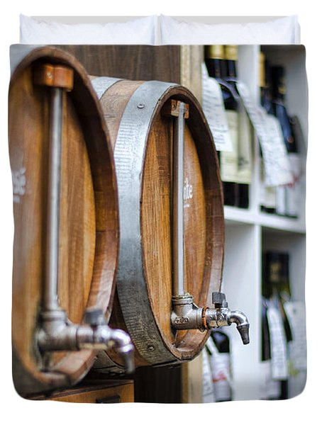 Diy Wine Duvet Cover by Heather Applegate