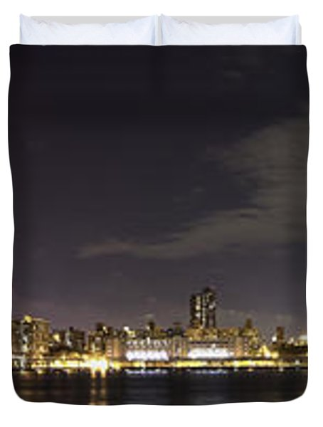 Doble Puente Duvet Cover by Alex Ching