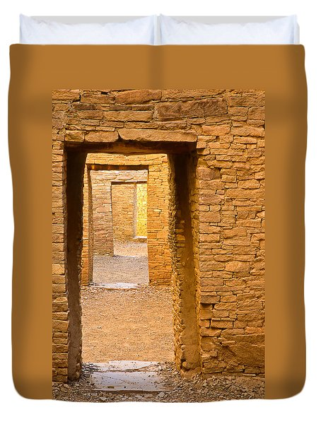 Doorway Chaco Canyon Duvet Cover