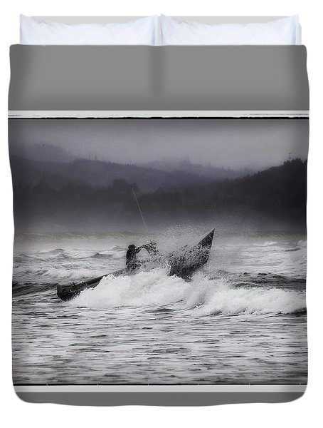 Dory Launch Duvet Cover