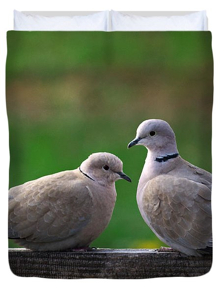 Doves Duvet Cover