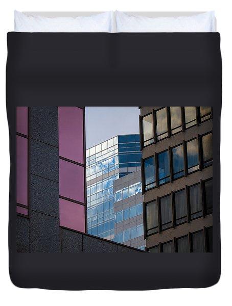 Downtown Portland Duvet Cover