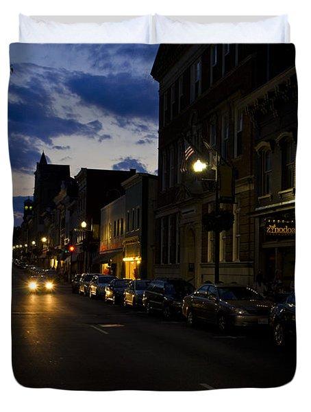 Downtown Staunton Virginia Zynodoa  Duvet Cover