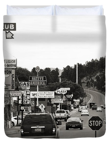 Downtown Williams Duvet Cover