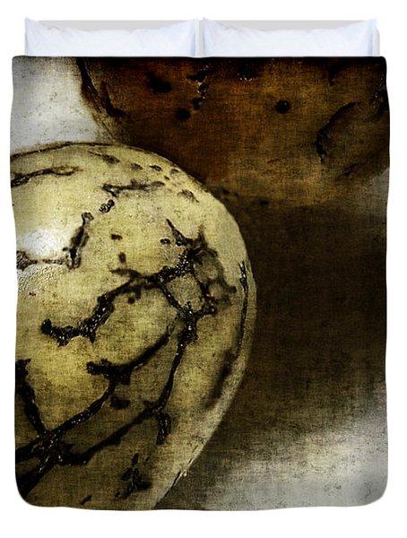 Dragon Eggs Duvet Cover by Judi Bagwell