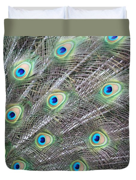 Dragon Eyes Duvet Cover by Amy Gallagher