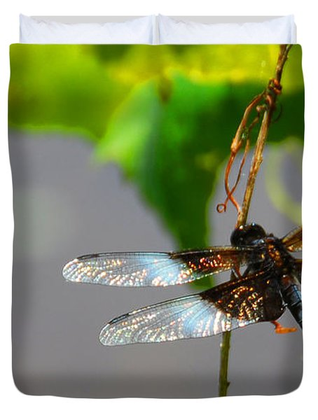 Dragonfly Duvet Cover by Cindy Manero