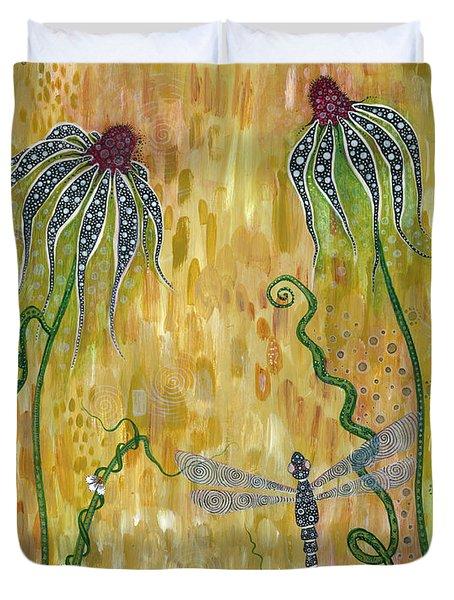 Dragonfly Safari Duvet Cover